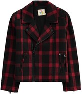 Little Eleven Paris Ring Checked Jacket