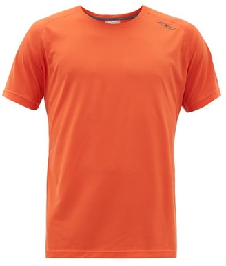 2XU Ghost Running T-shirt - Mens - Orange