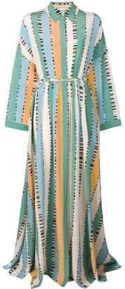 Emilio Pucci Long Printed Dress