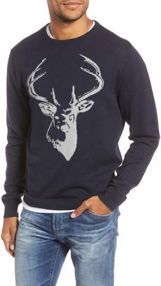 1901 Stag Cotton & Cashmere Sweater