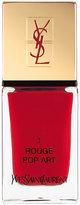 Saint Laurent La Laque No1 Rouge Pop Art