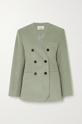 Frankie Shop Gala Cotton-corduroy Blazer