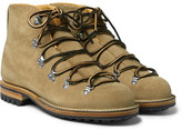 Viberg - Hiker Whole-Cut Rough-Out Suede Boots