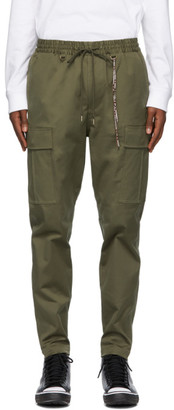 Mastermind Japan Khaki Zipped Cargo Pants