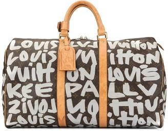 Louis Vuitton Pre-Owned Keepall 50 Graffiti bag