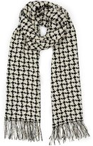 Reiss Marlin Houndstooth Scarf