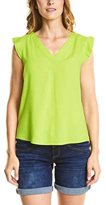 Street One Women's 340952 Blouse, (Chilled Green 11348), (Manufacter Size: 44)