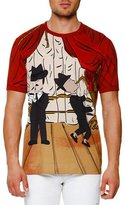 Dolce & Gabbana Jazz-Print T-Shirt, Red
