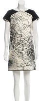 Giles Printed Silk Dress