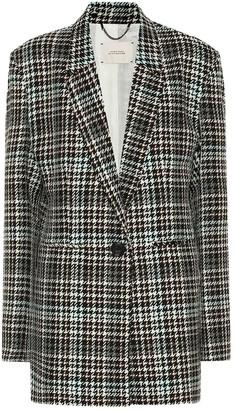 Dorothee Schumacher Charismatic Check wool-blend blazer