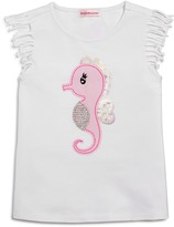 Design History Girls' Sea Horse Top
