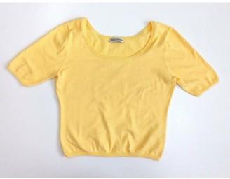 Iris von Arnim Yellow Cotton Tops