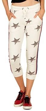 Vintage Havana Star Cropped Jogger Pants
