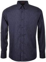 Ted Baker Jakee Indigo Look Shirt Blue