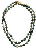 Ashley Pittman Agate Shanga Bead Necklace