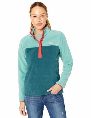 Columbia Women's Plus Size Benton Springs Half Snap Pullover