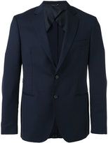 Tonello notched lapel blazer - men - Cupro/Virgin Wool - 50