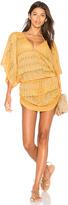 Luli Fama Obsession Cabana V Neck Dress