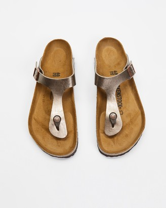 Birkenstock Women's Brown Flat Sandals - Gizeh Graceful - Women's - Size 36 at The Iconic