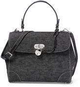 Ralph Lauren Medium Denim Tiffin Bag