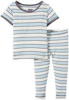 Kickee Pants Print Pajama Set (Baby) - Boy Musical-0-3 Months