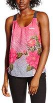 Desigual Women's Pink Teardrop T Shirt