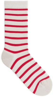 Arket Striped Cotton Socks