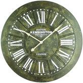 Yosemite Home Decor 39.5 in. x 39.5 in. Circular Iron Wall Clock