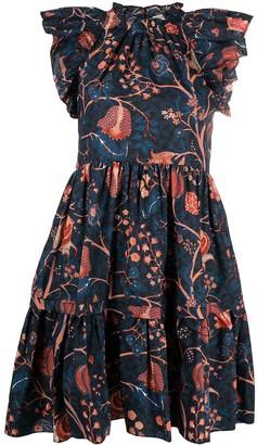 Ulla Johnson Frill-Gathered Smock Dress