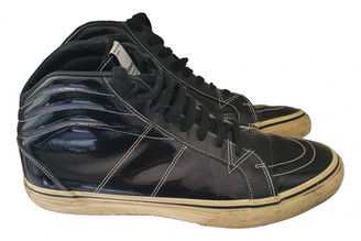 Visvim Black Patent leather Trainers