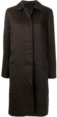 Fendi Pre-Owned Zucchino knee-length coat