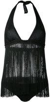 Missoni fringed bikini set - women - Viscose/Polyamide/Spandex/Elastane - 40