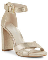 Kenneth Cole New York Diana Leather Open Toe Sandals