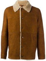 Palm Angels sheepskin coach jacket