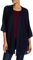 Max Studio Long Sleeve Knit Cardigan Sweater