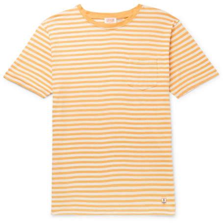 2292952c6ac Mens Linen T-shirt - ShopStyle