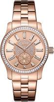 JBW 18k Rose Gold-Plated Stainless-Steel Celine Womens Rose Goldtone Bracelet Watch-J6349d