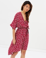 MinkPink Roses Are Red Ditty Midi Dress