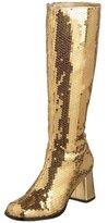 Pleaser USA Bordello by Women's Spectatcular-300 Sequin Gogo Boot