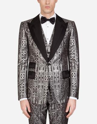 Dolce & Gabbana Tuxedo Jacket With Grosgrain Details