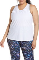 Spanx Perforated Active Tank Top