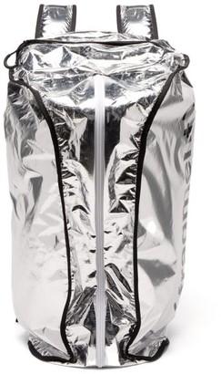 Fragment 7 Moncler Hiroshi Fujiwara - Reversible Duffle Bag - Silver