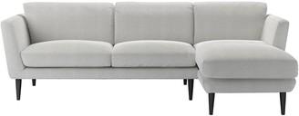 Sofa.Com Holly Medium Fabric Right Hand Facing Chaise Sofa