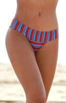 RVCA Kind Line Stripe Cheeky Bikini Bottom