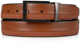 Kenneth Cole Reaction Tan & Black Textured Reversible Leather Belt