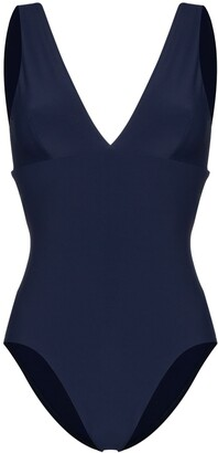 BONDI BORN Veronica deep V-neck swimsuit