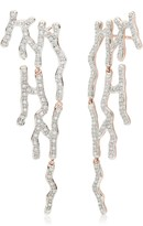 Monica Vinader Riva Waterfall Cocktail Diamond earrings