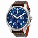 IWC Men's Quartz Stainless Steel Watch, Color: (Model: IW377714)