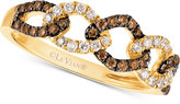 LeVian Le Vian Chocolatier® Diamond Linked Ring (1/3 ct. t.w.) in 14k Gold