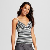 Merona Women's Shirred Over the Shoulder Tankini Top